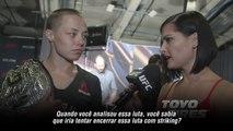 UFC 217: Entrevista nos bastidores com Rose Namajunas