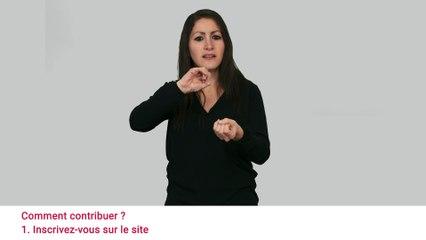 Consultation Egalité Handicap - Vidéo en LSF