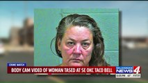 Woman Tased After Allegedly Chasing Taco Bell Employees With Tire Iron