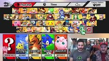 SUPER SMASHED BROS! Drunk Super Smash Bros Wii U Gameplay!