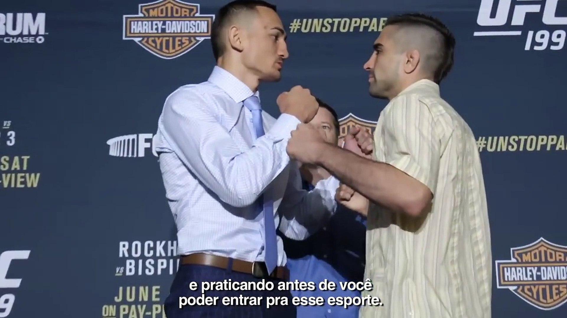 Top 5 melhores momentos do Media Day do UFC 199