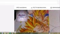 Dibujando a Veggeto SSj dios SSj DragonBall Super. How to draw Vegetto SSj God DragonBall Super