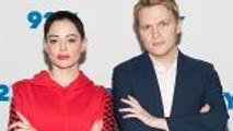 Ronan Farrow and Rose McGowan Discuss Weinstein, Another 'Prominent' Hollywood Predator | THR News