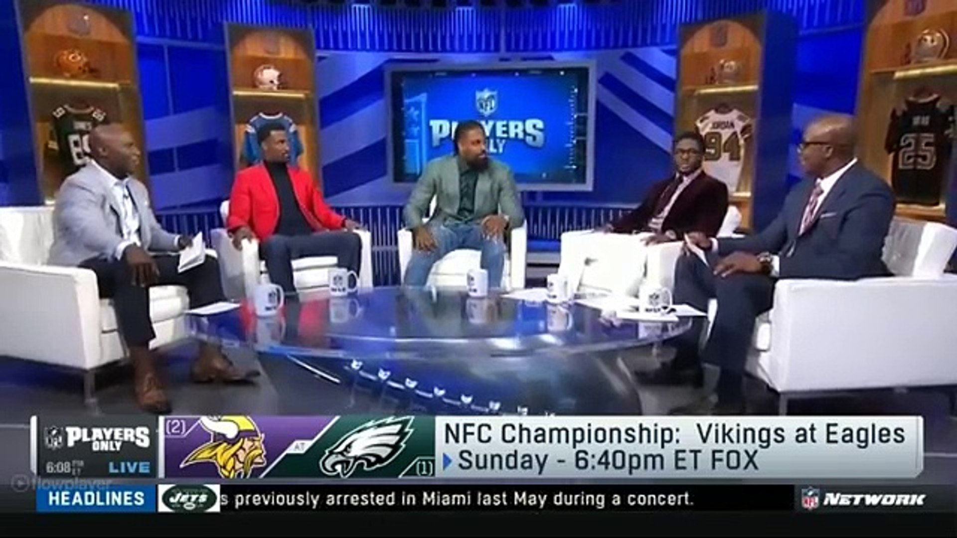 Vikings vs Eagles: NFC Championship - Who will win? | NFL Players Only