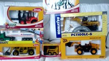 UNBOXING TOYS JOAL for KIDS. Abriendo JUGUETES JOAL máquinas construción metal vídeo niños español
