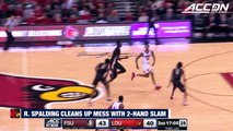 Louisville's Ray Spalding Cleans Up Mess With Two-Hand Dunk vs. FSU