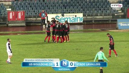 J20 : US Boulogne - Stade Lavallois (1-0), le résumé