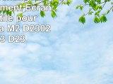 Écran de rechange LCD remplacement  Ecran vitre tactile pour Sony Xperia M2 D2302 D2303