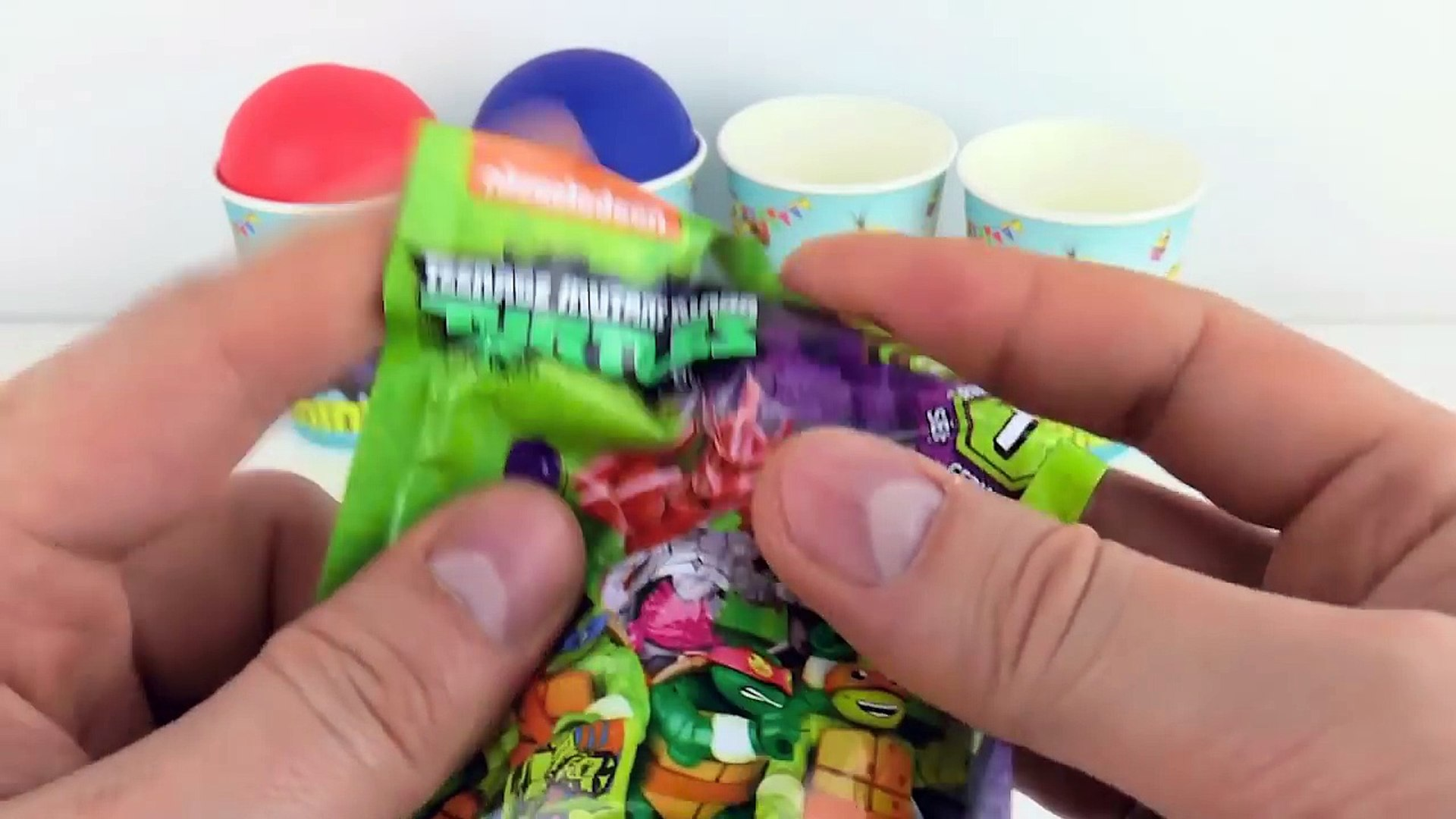 Play Doh Learn Colors Kinder Surprise Eggs Play Doh Minions Ninja Turtles For Kids Lala Do Play Doh