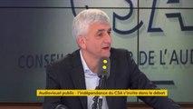 """Mathieu Gallet : """"Je pense que [la ministre de la Culture] a fait une erreur"""" en s'exprimant avant la décision du CSA, estime Hervé Morin"""