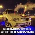 Tunning sur la voiture de sa femme