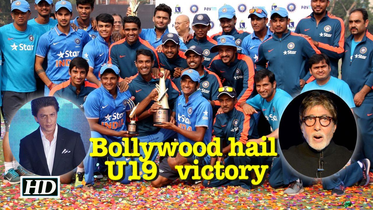 India wins U19 World Cup: Bollywood hail victory