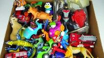 Box Full of Toys   Batman Figure Disney Cars Figures Vehicles toys Cars Disney Action Figures 4