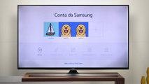 Assistir vídeos em uma Smart TV usando o Samsung Link