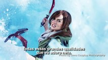 Veja Naomi Kyle fazendo cosplay de Lara Croft (Parte 1) - IGN Reportagens