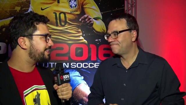 PES 2016: entrevista com Mauro Beting - IGN Entrevistas