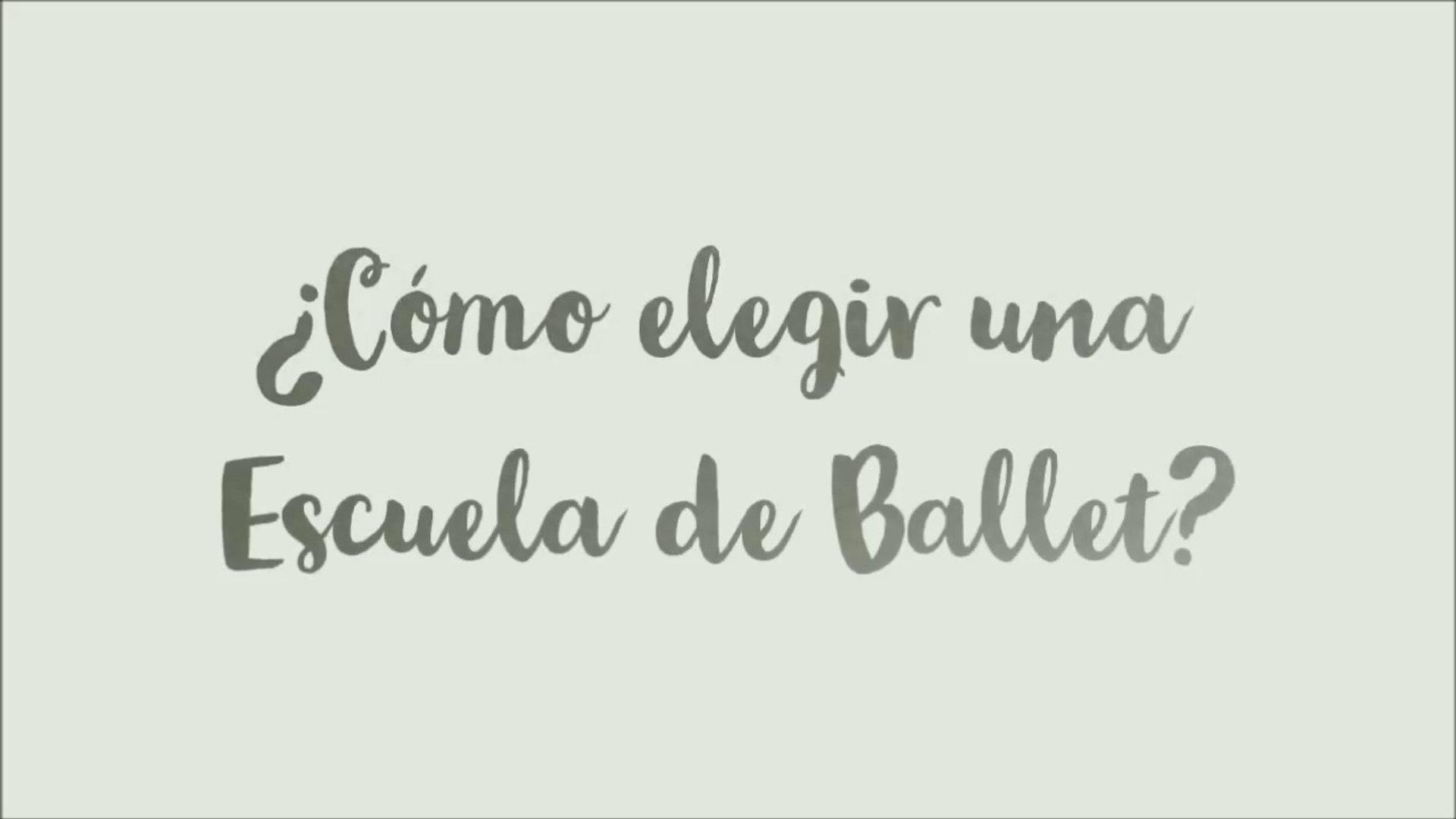 ¿Cómo elegir una escuela de ballet?/ MARIA DOVAL BALLET