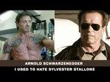 I used to hate Sylvester Stallone - Arnold Schwarzenegger