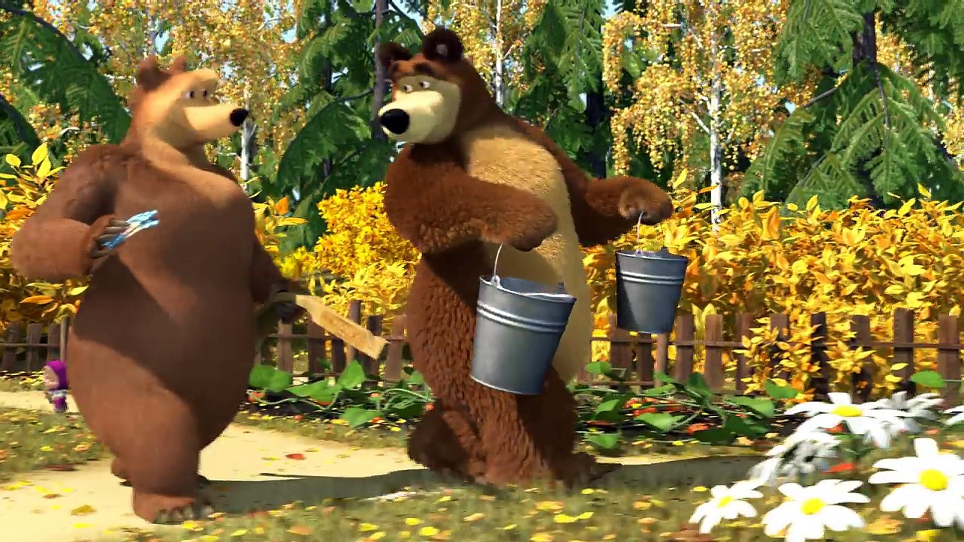 Cô Bé Siêu Quậy Và Chú Gấu Xiếc Tập 50 -  Phim Hoạt Hình 3D - Phim Hoạt Hình 3D Vui Nhộn Hài Hước -