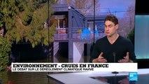 """Crues en France : """"Le réchauffement climatique intensifie les catastrophes naturelles"""""""