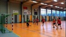 1er mi-temps vidéo du match -18 garçons Vehb & NIORT HBS/CHAURAY LC 2