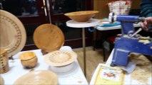 Bourg-de-Péage : au marché artisanal, un tourneur bois