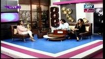 Breaking Weekend - Guest: Karam Abbas khan & Fiza Javed in High Quality on ARY Zindagi - 4th February 2018