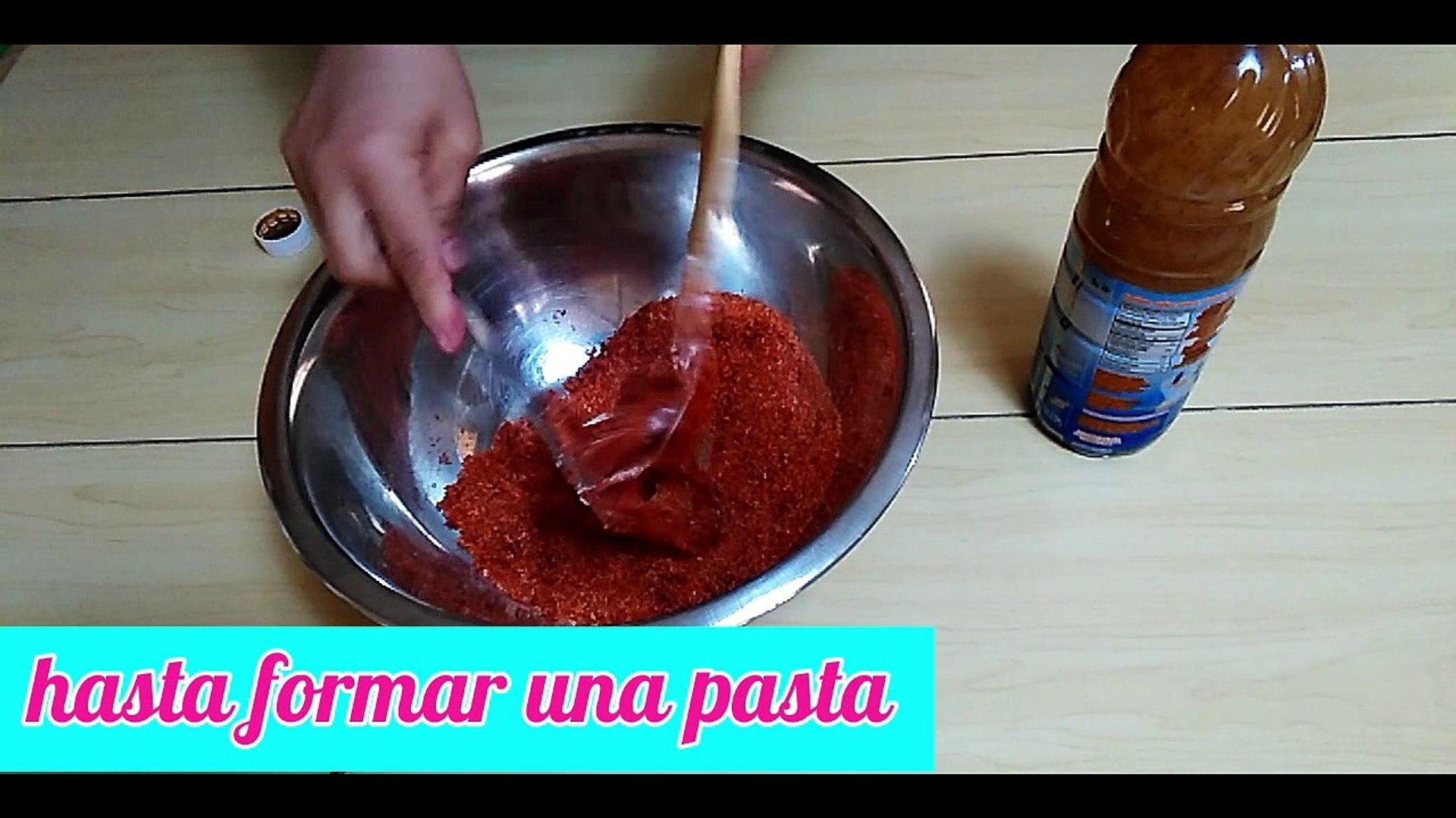 COMO PREPARAR EL CHAMOY PARA CUBRIR MANZANAS PARA TU CANDYBAR ... - Vídeo  Dailymotion
