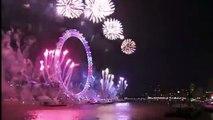 London Fireworks 2017 / 2018 - New Year's Eve Fireworks - BBC One