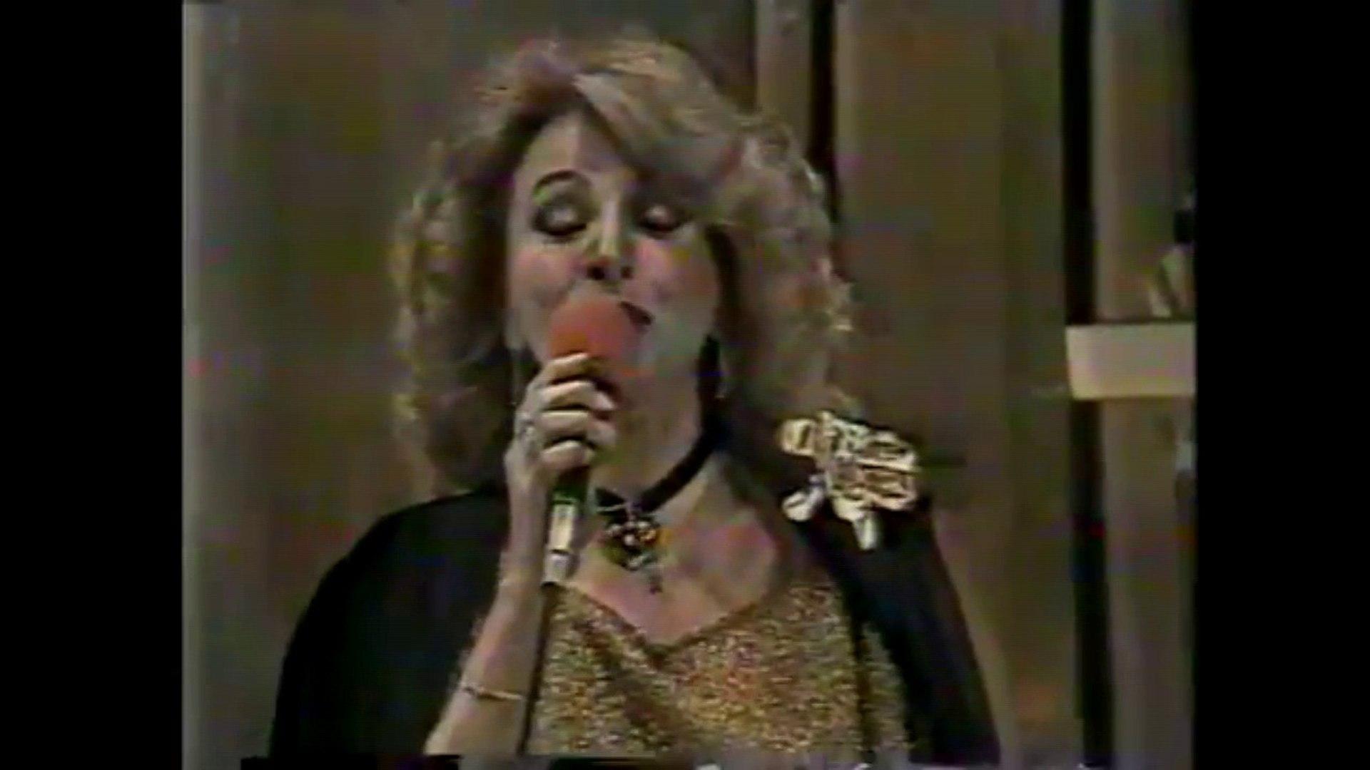 A ultima aparição Márcia de Windsor em Boa Noite Brasil (Band 1982)