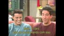 #Friends | Entrevista David Schwimmer e Matt LeBlanc - 1995
