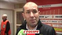 Foot - L1 - Monaco : Jardim «Une victoire méritée»