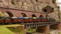 Train en miniature sur un réseau HO faite par un club de modélisme ferroviaire en Allemagne - Une vidéo de Pilentum Télévision sur le modélisme ferroviaire avec des trains miniatures
