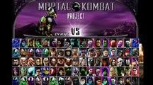 The Mortal Kombat Project Experience Bi-Han (Funny Clips from Mortal Kombat Project - Bi Han )