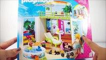 PLAYMOBIL TOYS Summer Fun Beach Bungalow Fun Vacation Playset Toys