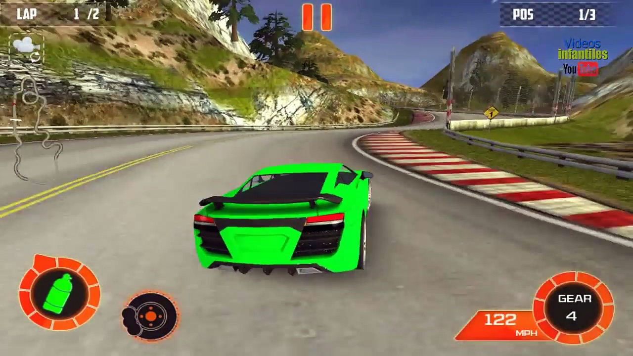 racing cars or 3d cars