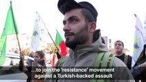 In Syria's Afrin, locals mobilise defence against Turkey