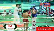 Meas Chanmean vs Phetchka(thai), Khmer Boxing Seatv 03 Feb 2018, Kun Khmer vs Muay Thai