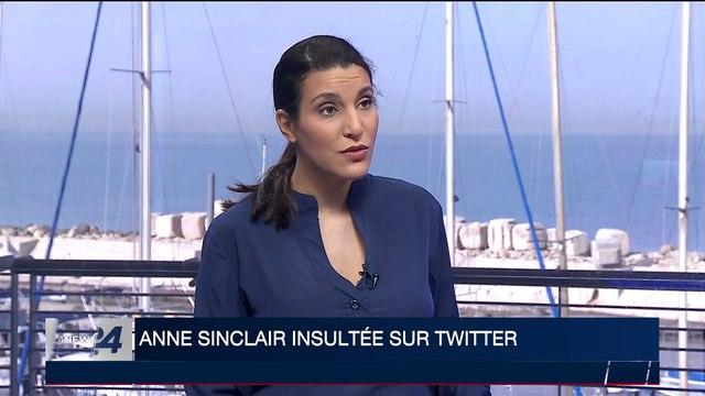 Anne Sinclair insultée sur Twitter