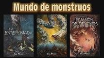 Javi Navas Escritor. Booktrailer de Mundo de monstruos (la trilogía), de Javi Navas