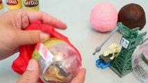 Surprise Eggs Play Doh Disney Cars, Frozen, Thomas Toy 플레이도우 서프라이즈 에그 와 뽀로로 폴리 타요 장난감