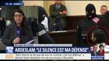 """Abdeslam à son procès: """"Mon silence, c'est ma défense. Je n'ai pas peur de vous"""""""