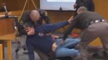 Un père essaie d'attaquer Larry Nassar en plein tribunal