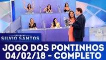 Jogo dos Pontinhos - Programa Silvio Santos - 04.02.18
