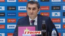 Foot - ESP - Barça : Valverde «Beaucoup de valeur dans ce match nul»