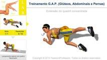 Treinamento G.A.P. (Glúteos, Abdominais e Pernas) - No Music