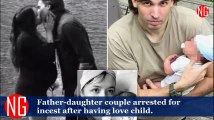 Father-Daughter Couple Arrested After Having A Child