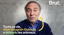 Souffrance animale, corrida, élevage en batterie : rencontre avec Allain Bougrain-Dubourg