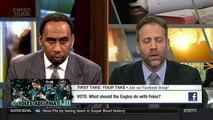 What should the Eagles do with Nick Foles? | Patriots vs Eagles Super Bowl LII