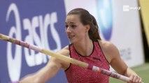 Meeting de Mondeville 2018 : Ninon Guillon-Romarin avec 4,52 m à la perche